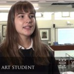 A video of Izzy speaking about Art at Woodbridge school Sixth Form